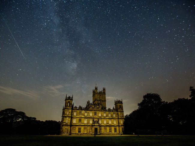 Highclere Castle at night Starry sky The 12 most romantic wedding venues