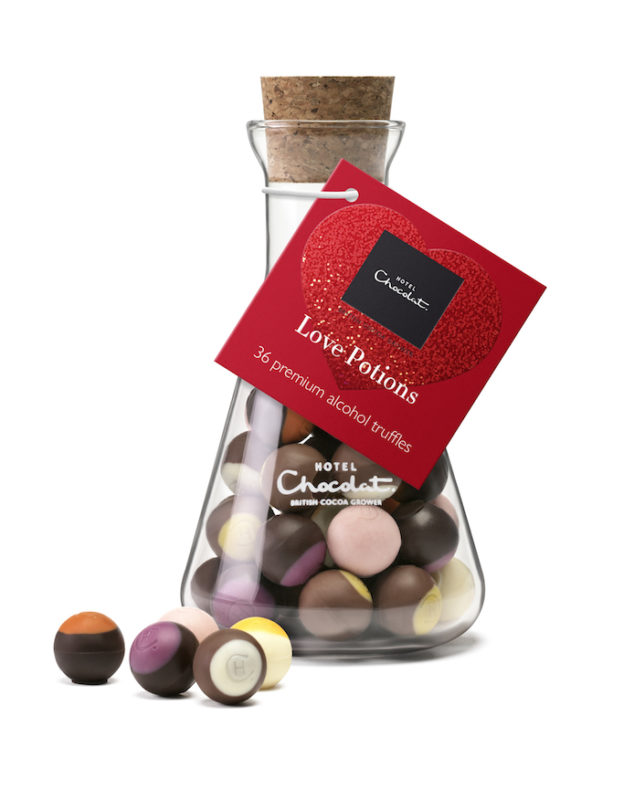 Hotel Chocolat Love Potions Chocolate Cocktails Valentine's Day Gift Ideas on Every Budget