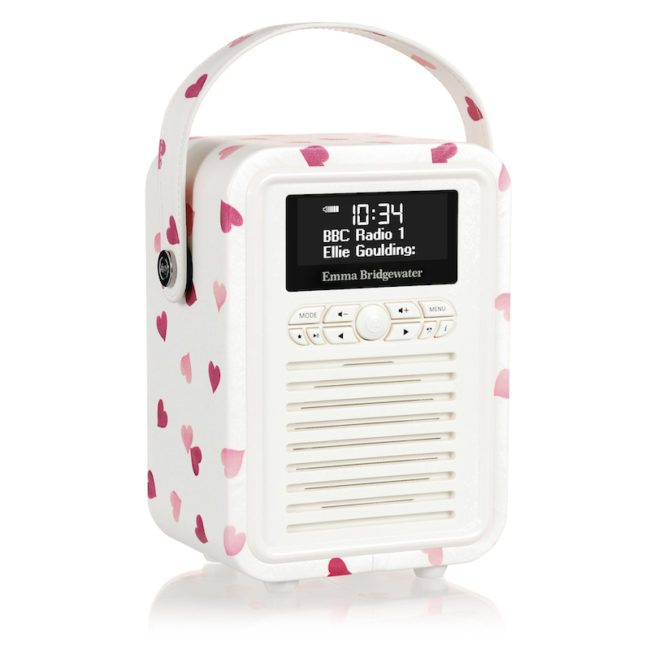 My VQ tech radio with love hearts Win 10k Worth of Prizes competition
