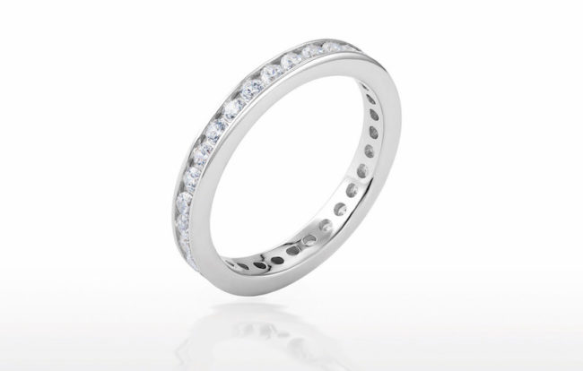 Ruby & Oscar Etenity Ring Win 10k Worth of Prizes Including a Diamond Eternity Band competition