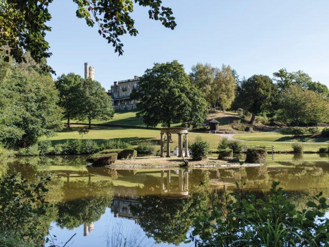 Salomons Estate gardens and lake The 12 Most Romantic Wedding Venues