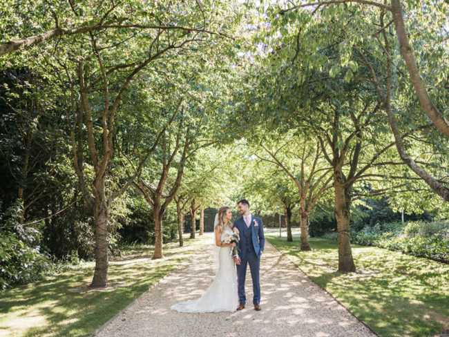 South Farm wedding bride and groom The 12 Most Romantic Wedding Venues