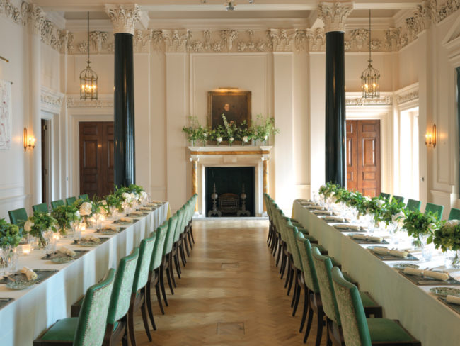 The Ned hotel wedding set-up The 12 most romantic wedding venues