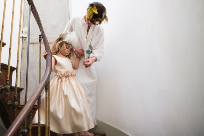 bride and flower girl best wedding readings for children
