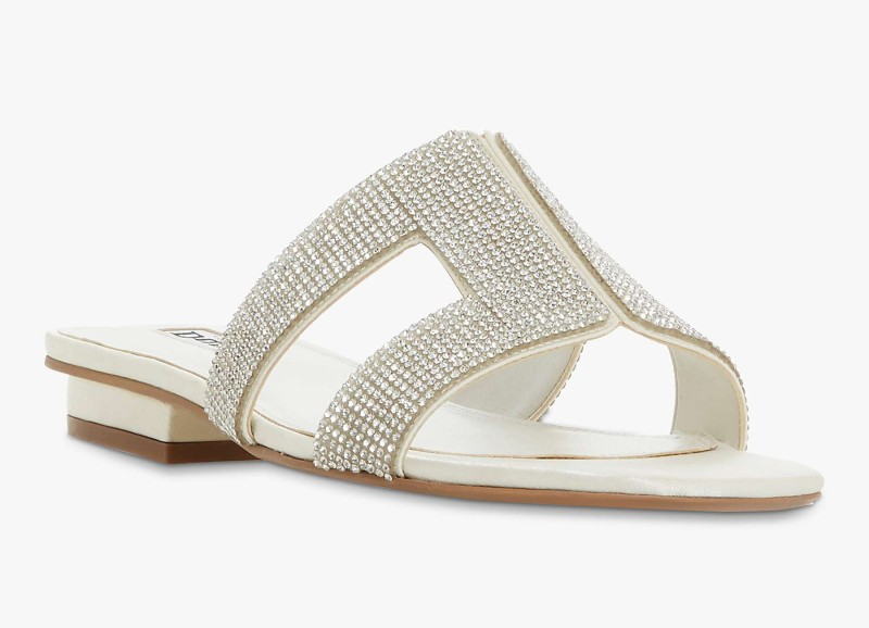 dune-sparkly-sliders-flat-wedding-shoes