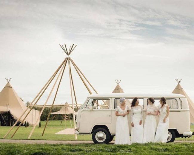 festival wedding bridesmaids teepee Win 10k Worth of Prizes competition