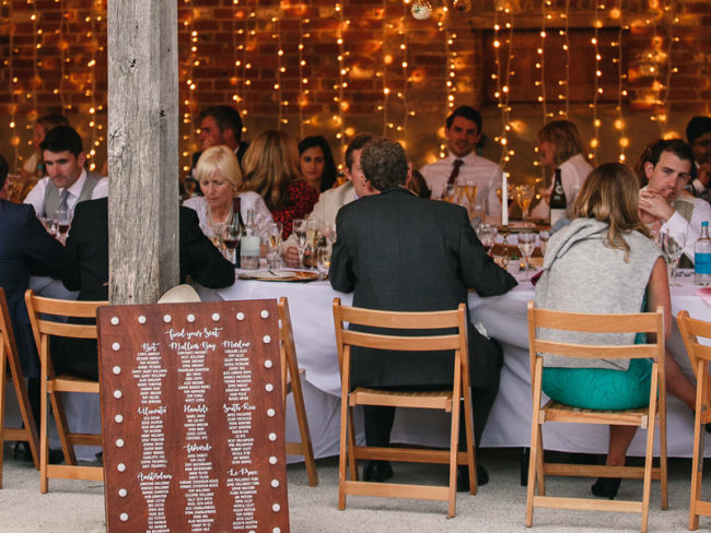 barn wedding reception guests Styling a Barn Venue for Your Wedding Day