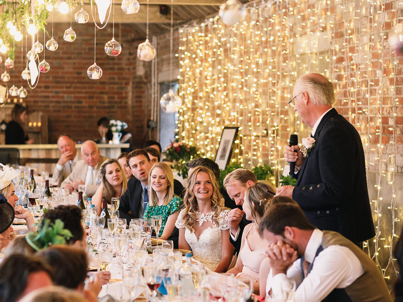 Father of the bride speech Styling a Barn Venue for Your Wedding Day