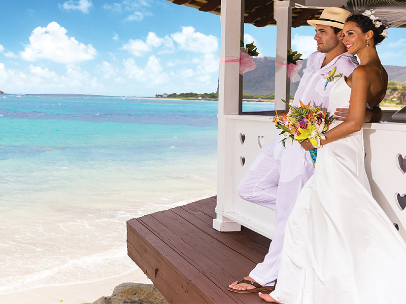 Coconut Bay beach resort wedding lifestyle shot The British Wedding Awards 2019: the Designers, Venues and Brands Recognised on the Night