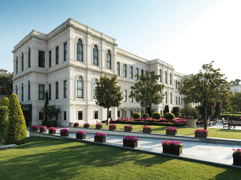 The Bosphorous, Four Seasons Hotel Istanbul exterior Win a four-night minimoon to Turkey