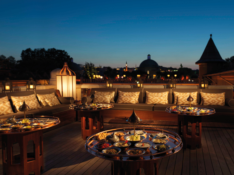 Four Seasons Hotel Istanbul Sultanahmet Win a four-night minimoon to Turkey