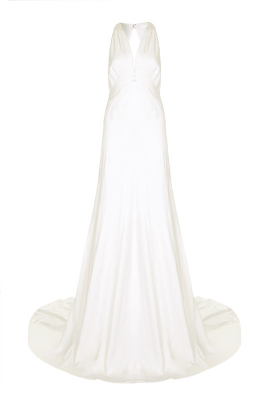 GHOST SATIN LILY WEDDING DRESS Wedding Dresses Under £1,000