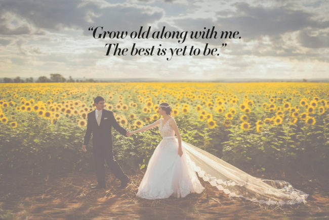 The Most Romantic Quotes for Your Wedding Day Love
