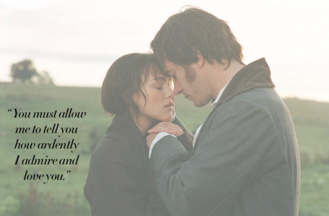The Most Romantic Quotes for Your Wedding Day Pride and Prejudice quote