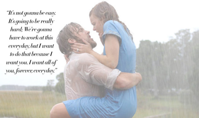 The Most Romantic Quotes for Your Wedding Day The Notebook