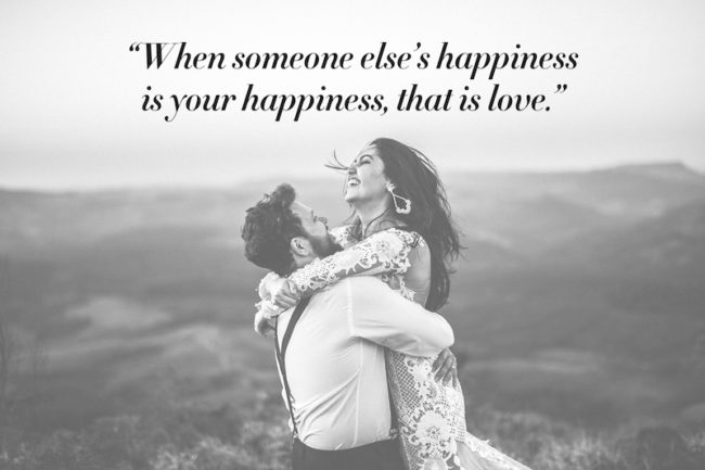 The Most Romantic Quotes for Your Wedding Day love quotes