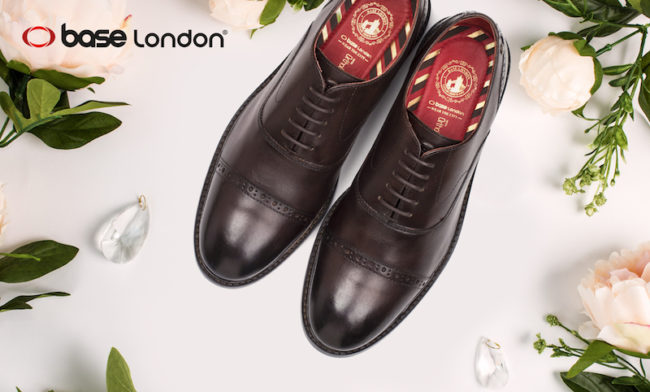 Win a £100 Base London Voucher for Your Groom's Shoes