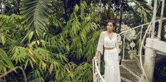 Catherine Deane Mavis Skirt wedding day