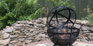 Win an ISON Ball Fire Pit for Your Garden Worth £130