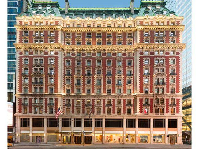 Hotel exterior knickerbocker hotel
