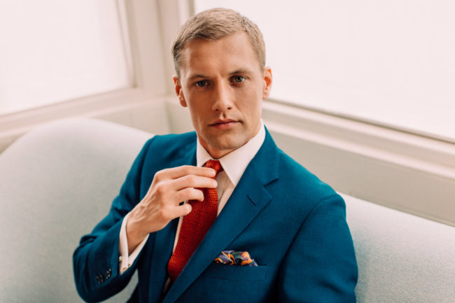 Win Your Groom's Suit and Made-to-Measure Service, Worth £1300