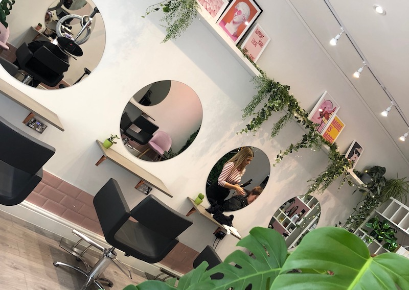 Mayfive hair salon Chiswick