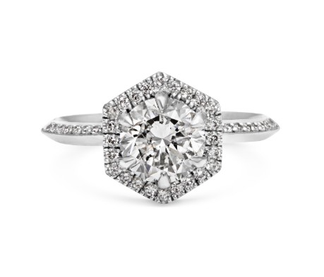 hexagon-diamond-engagement-ring-trends