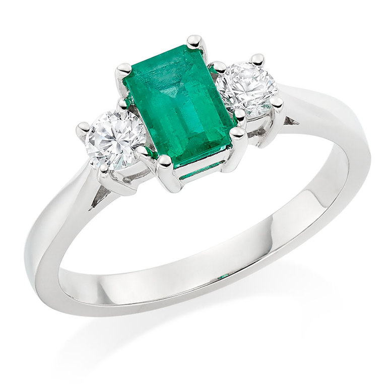 three-stone-engagement-ring-trend