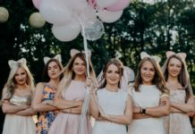 Bridal Shower Ideas group of girls