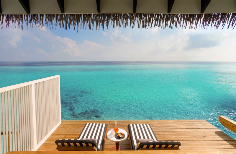Winter sun honeymoon