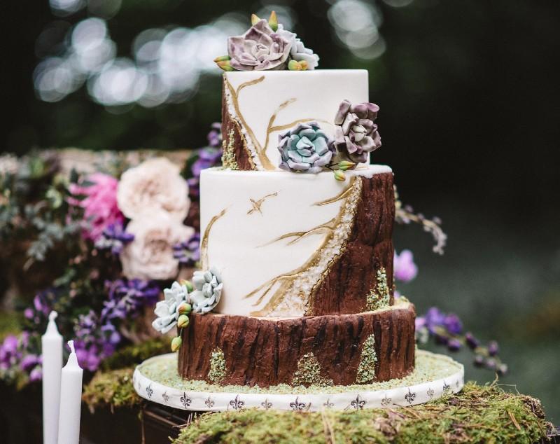sustainable wedding cakes