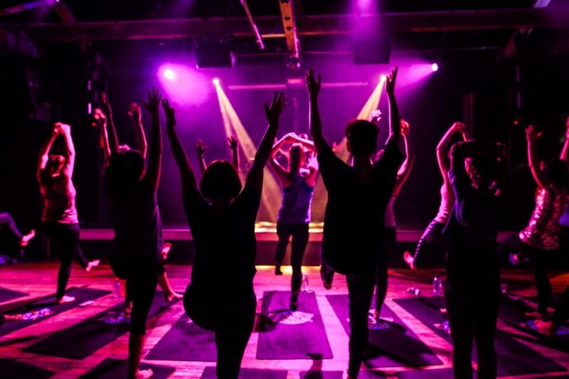 Disco-Yoga-quirky-hen-party-ideas