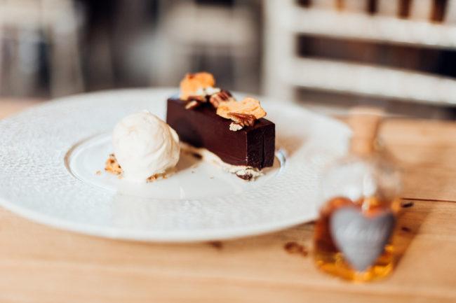 Chocolate delice dessert