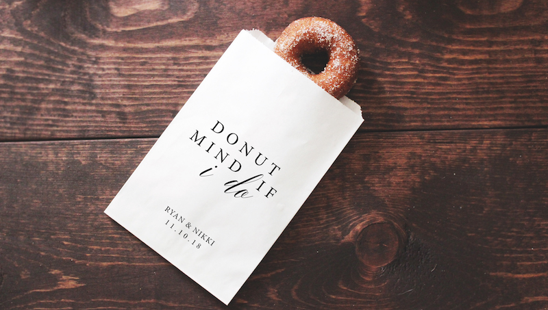 Doughnut favours