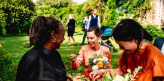 Walcot Hall serving canapes wedding food trends