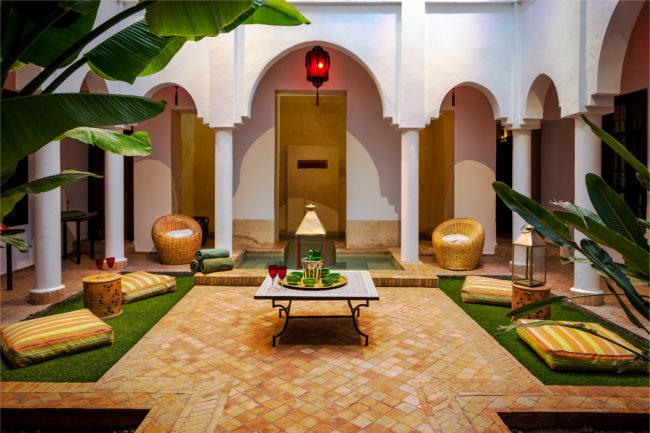 Riad Capaldi Courtyard