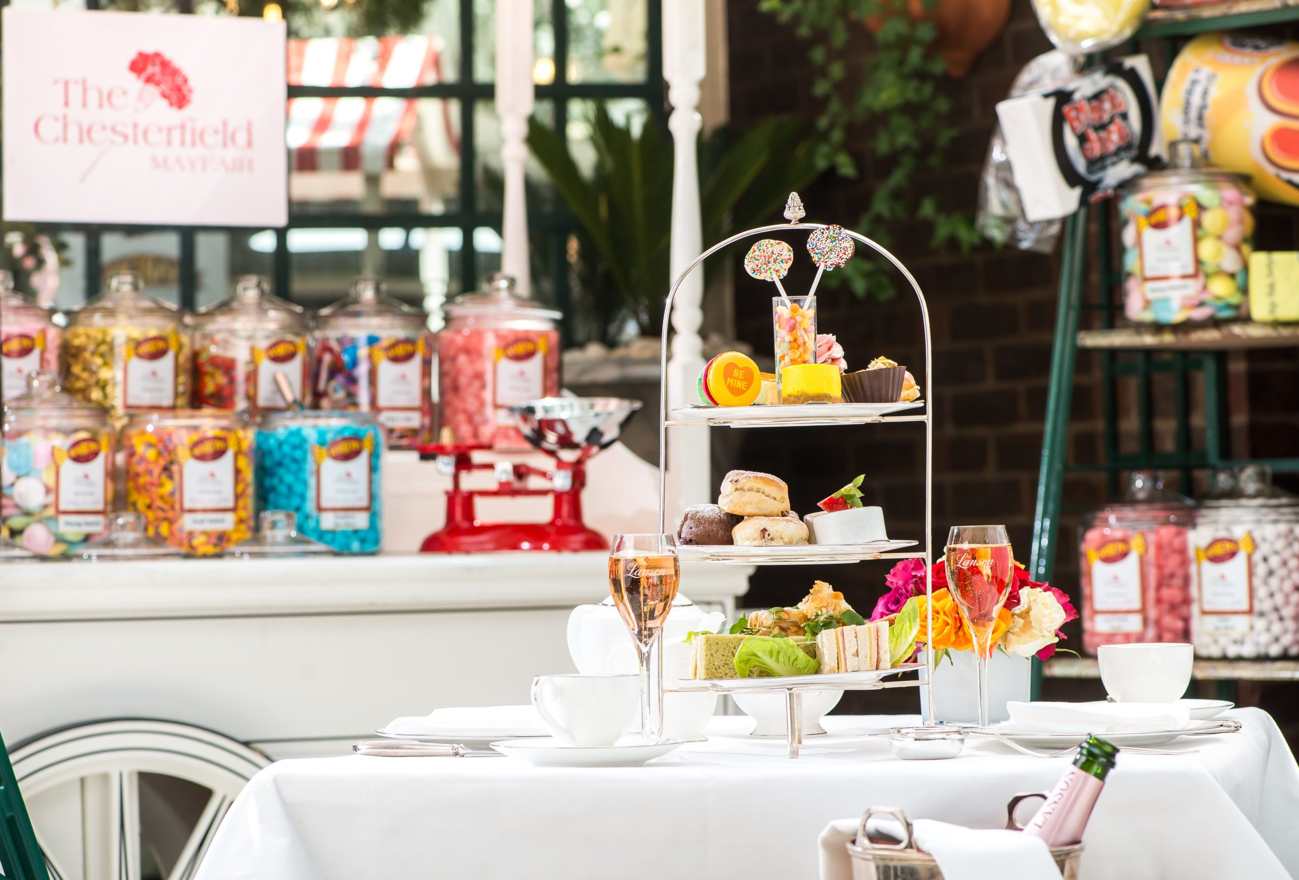 The Chesterfield afternoon tea