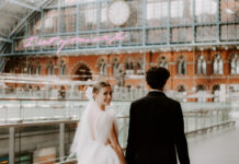 St Pancras Styled Shoot london wedding venue