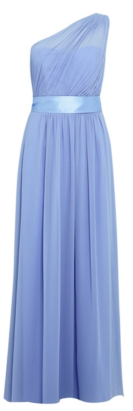 Dorothy Perkins blue bridesmaid dress