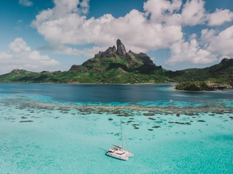 French Polynesia - virtual backdrop proposal