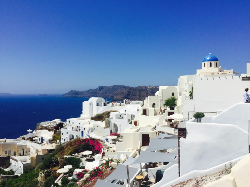Santorini, Greece - virtual proposal destinations