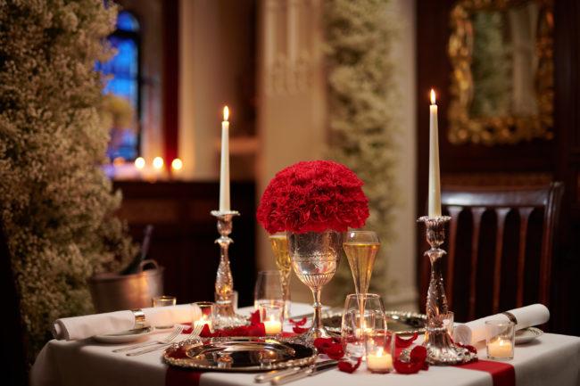 The Milestone private dining in The Oratory