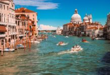 Venice virtual proposal destination backdrop