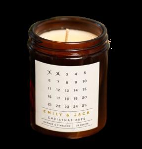 Advent Calendar Candle