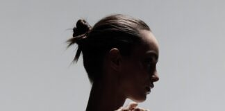 Luma Grothe shot by L'Oreal Paris