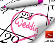 12 Month Wedding Planner